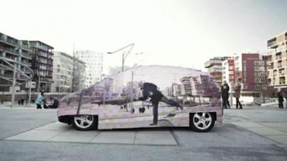 Mercedes Görünmez Otomobil Yaptı