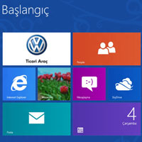 Volkswagen'den Windows 8 uygulaması