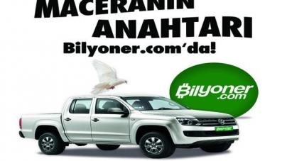 Bilyoner'in yeni kampanyası Volkswagen Amarok hediyeli