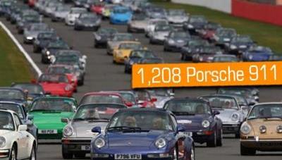 Porsche'den yeni dünya rekoru