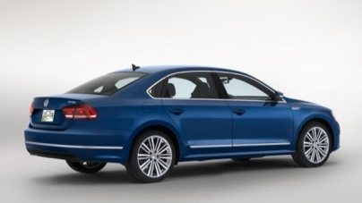 2015 Passat BlueMotion Concept