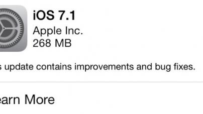 iOS 7.1 çıktı