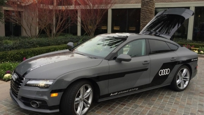 Audi Pilotsuz 885km Yaptı