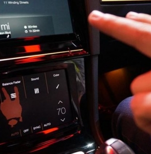 Golf R Touch CES 2015