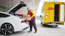DHL Audi bağajına teslimat yapacak