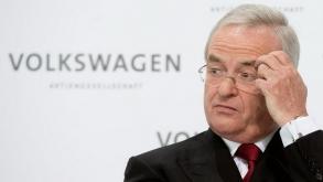 Martin Winterkorn Volkswagen CEO'su istifa etti