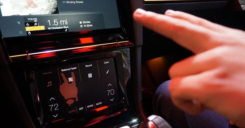 Photo of Golf R Touch CES 2015