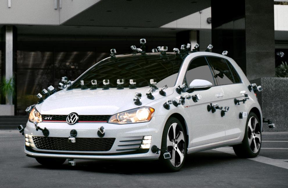Photo of Motor sesi çıkaran Volkswagen reklamında